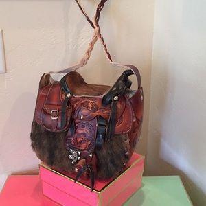 Handbags - Saddle Leather Handbag